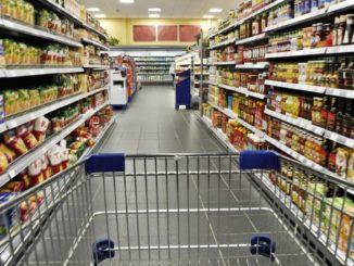 Einkaufswagen ohne Chip