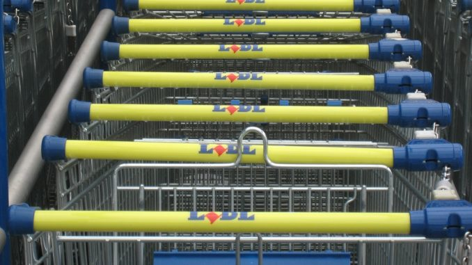 Einkaufen bei Lidl